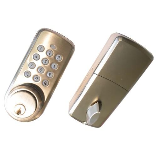 Z wave door lock without handle for Adt z wave door lock