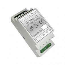 Haseman Z-Wave DIN Rail Universal Dimmer v2 250W (Insert Fibaro FGD-212)